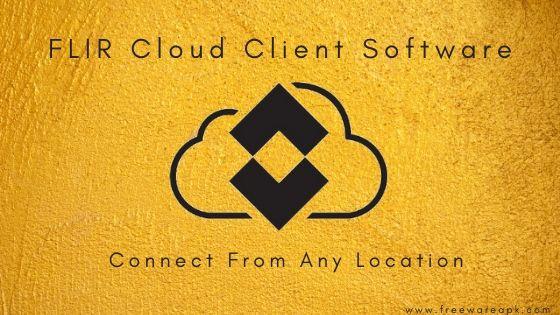 FLIR Cloud Client Software