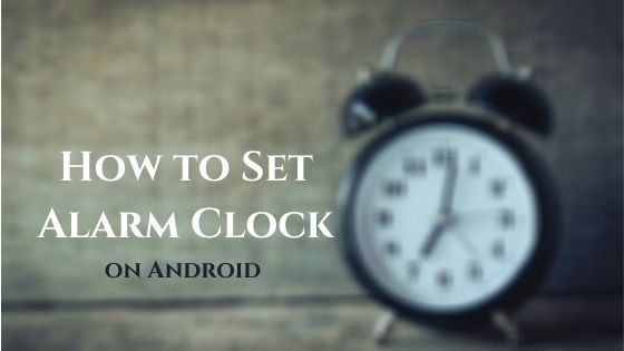 How to Set Alarm Clock