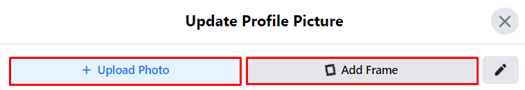 How to add a temporary profile picture on Facebook