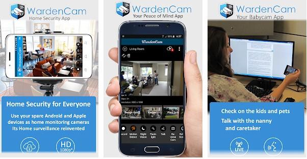 WardenCam Pro Apk for PC