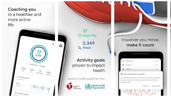 Google Fit App for iPhone