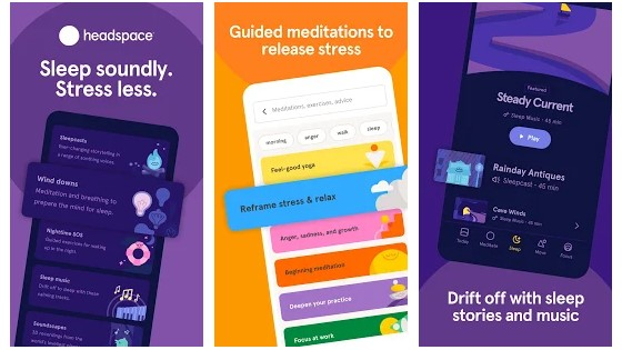 Use Headspace App